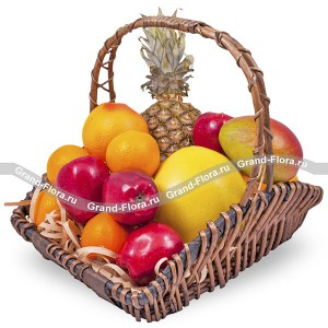 Wonder Island - a basket of fruit